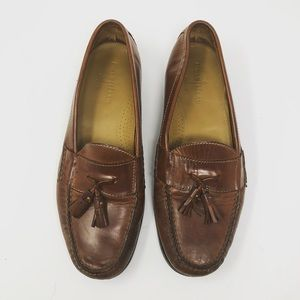 4975d91f4c3 Cole Haan Shoes - Cole Haan men s brown leather tassel loafer 12